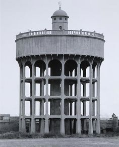 Bernd and Hilla Becher, Water Tower. Newton le Willows, United Kingdom. 1966