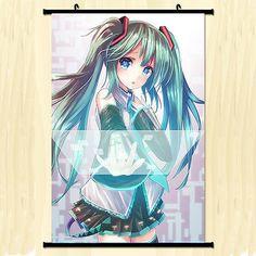 Vocaloid: Hatsune Miku Home Decor Anime Japanese Poster Wall Scroll New