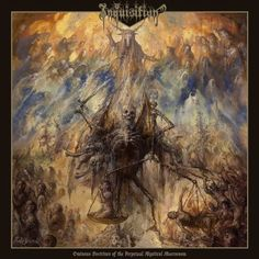 Inquisition - Ominous Doctrines Of The Perpetual Mystical Macrocosm on Limited Edition 45RPM 2LP