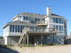 Sandbridge Beach - Oceanfront Vacation Home / Siebert Realty / Virginia Beach, VA  - Sea Forever - 2836 Sandfiddler Road