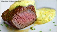 Bernaise Sauce Recipe: a delicious homemade butter sauce recipe for steaks!