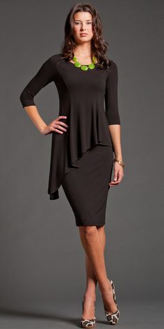 Outstanding website. It's a woman focused on stylish modest clothing. And it is stylish.