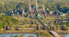 Angkor Wat Ancient Temple di Siem Reap, Kamboja