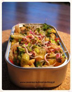 Sałatka z ciecierzycy i konserwowej sardynki   andrasz-kulinarnie