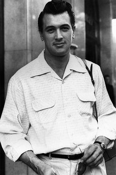 Rock Hudson photographed by Marcel Thomas