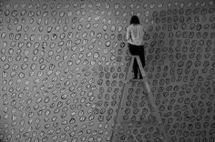 Wall Drawing Moon Unit, Large Format Printing, Wall Drawing, Art Museum, Art Gallery, Drawings, Prints, Museum Of Art, Mural Painting