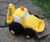 1500 Free Amigurumi Patterns: Free Crochet Digger Loader Pattern