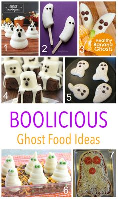 BOOLICIOUS - spooky food ideas for kids on Halloween - including frozen ghost pops and Spooky Shepherds Pie!