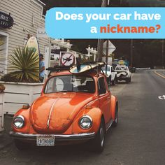 """WIN A GIFT CARD TO BUGGY BATHE!  Have you ever given your car a nickname? Dr. Curry's car in dental school was named """"Musette"""", but Mimi for short. Comment your car's nickname and we'll randomly pick a winner to be announced Friday February 26th!"""