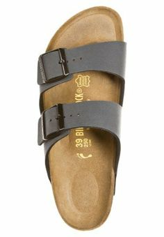 e57505b2736 Grey Birkenstocks - ARIZONA - two straps Grey Birkenstocks