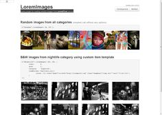 LoremImages - jQuery plugin for loading random images from LoremPixel service
