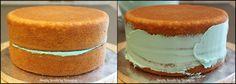 How I Like To Ice A Cake - simplysweetsbyhoneybee.com