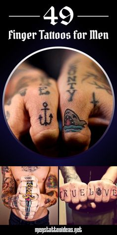 Awesome Finger Tattoo Ideas