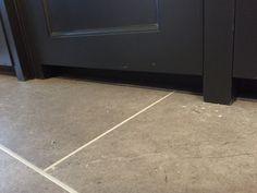 Luxury vinyl floor in a kitchen Luxury Vinyl Flooring, Luxury Vinyl Tile, Fired Earth, Vinyl Tiles, Stone Tiles, Tile Floor, Kitchen, Floors Of Stone, Cooking