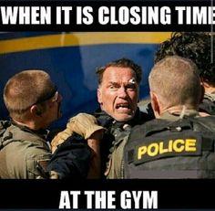 Arnold Meme #Closing, #Gym