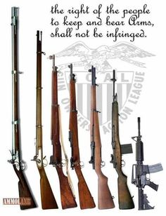 Gun Rights... Yep that's what our founding fathers said. Don't forget it!                                                                                                                                                                                 More