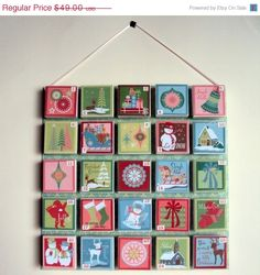 ON SALEReceive by 12/1 Advent Calendar Retro Feel by sweetpetunias, $44.00