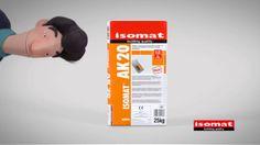 Νέα τηλεοπτική διαφήμιση από την ISOMAT-Κόλλα πλακιδίων AK 20
