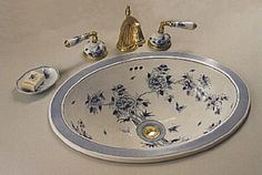 Manufacturer Of Fine Porcelain Hand Painted Bathroom Sink Designs And Bath  Accessories By QII London. Also Custom Bath Products, Chinaware, Limoges  Jewelry ...