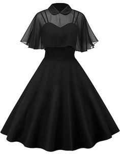 Two Piece Cocktail Dresses, Cocktail Dresses Online, Black Cocktail Dress, Prom Dress Black, Cute Black Dress, Black Gothic Dress, Dress Long, Mode Outfits, Fashion Outfits