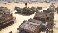 Western Town 3d model - CGStudio