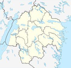 Linköping is located in Östergötland