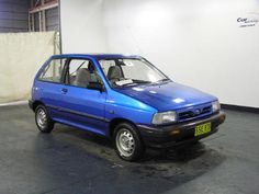 1993 Ford Festiva.  Great Mileage, made by KIA motors.  Put lots of mile on this one.