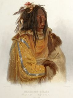 Mehkskeme-Sukahs (Iron Shirt)_cropped.jpg 1,791×2,407 pixels. Cropped from what? Artist is Karl Bodmer,  date unknown. Iron Shirt was the earliest known historic recorder of the North Peigan winter count, ultimately found & published by Paul Razka. JE