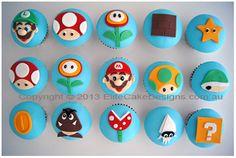 Super Mario cupcakes for kids