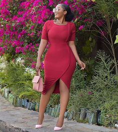 - - Best Casual Dress Styles for Every Fashion Chic to Own In 2019 - photo Classy Work Outfits, Business Casual Outfits, Classy Dress, Office Outfits, African Lace Dresses, African Fashion Dresses, Best Casual Dresses, Nice Dresses, Casual Gowns