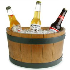 Half Barrel Ice Tub | Buy Bar Accessories Party Ice Tubs Bottle Cooler - Buy at drinkstuff