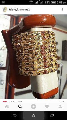 Gold Bangles, Cuff Bracelets, Jewels, Jewerly, Gemstones, Fine Jewelry, Gem, Jewelery, Jewelry