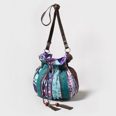Tassels + tie-dye = the perfect Boho Pouch Shoulder Bag