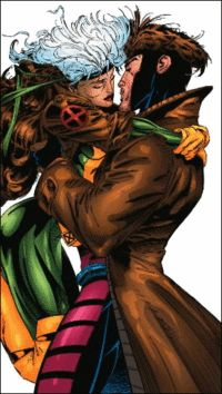 Remy LeBeau and Rogue (Anne Marie) (Earth-616) from X-Men Vol 2 24 001