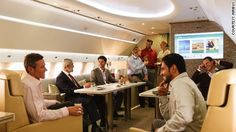 Flying palaces: The incredible world of luxury VIP jets