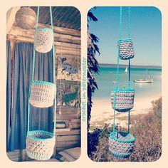 The easiest crochet basket pattern ever!
