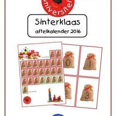 Sinterklaas-aftelkalender 2016 Gratis In dit bestand vind je twee aftelkalenders, één die telt tot de intocht op 12 november 2016, en één die telt vanaf de intocht tot pakjesavond op 5 december 2016. Daarnaast zitten er getalkaarten bij deze download. Met deze ...
