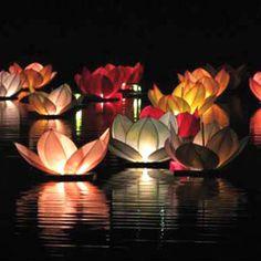 Lanterne flottante Thailandaise x 6 pièces
