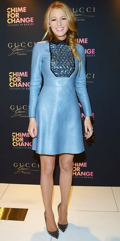 Look of the Day - May 7, 2014 - Blake Lively in Gucci from #InStyle