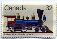 Canada Toronto 4-4-0 locomotive
