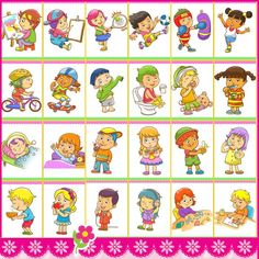 Speech Language Therapy, Speech And Language, Wall Calender, Schedule Cards, Free To Use Images, Family Wall, English Study, Take Care Of Me, Baby Kind