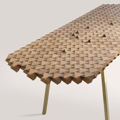 Atlas Table by Gunnar Rönsch & Stephen Molloy