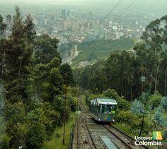 Way up to monserrate, Bogotá