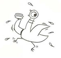 how to draw pigeon step by step mo willems