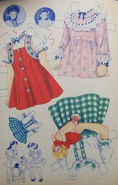 Margaret O'Brien Paper Dolls 1 & 2 Clothes* 1500 free paper dolls The International Paper Doll Society Arielle Gabriel artist ArtrA  Linked In QuanYin5 *