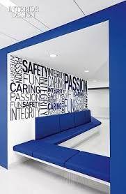 Resultado de imagen para office interiors design blue