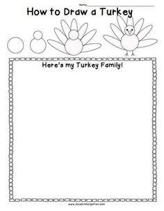 Kindergarten Turkey Activities