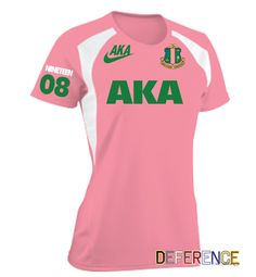 Alpha Kappa Alpha Soccer Jersey by DeferenceClothing on Etsy