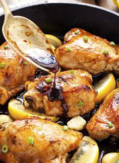 Honey Lemon Garlic Ginger Chicken | The Iron You | Bloglovin'