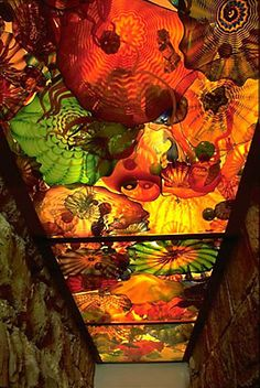 Chihuly in the Light of Jerusalem 2000 - Persian Ceiling